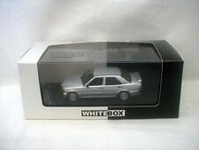 model car Mercedes 190E 2.3 16V   1988 Silver  Whitebox