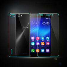 Latest Front + Back Tempered Glass Film Screen Protector For HUAWEI Honor 6