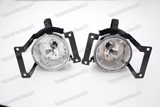 Driving Fog Light Lamp RH LH One Pair W/Bulbs For Hyundai Tucson 2005-2009