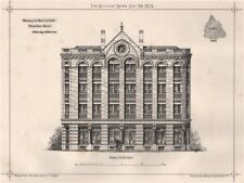 Warehouse for Cole Bros., Victoria Street, Bristol; J. Mechelen Rogers 1874