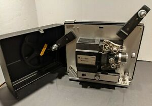 Vintage Bell & Howell Autoload 461B  8mm Movie Film Projector Cast Aluminum