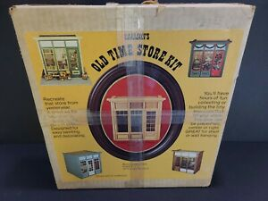 Old Time Store Kit, Carlson's Miniature 1:1 scale, Open box