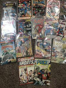 Lot DC Action Comics, Superman, Flash, Lois Lane & Misc