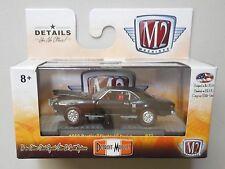 1968 BLACK PONTIAC FIREBIRD SPRINT M2 Machines DETROIT-MUSCLE Diecast 1/64 R37