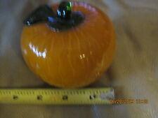 Vintage Blown Glass 00004000  Fruit, Orange - Murano