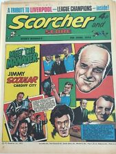 Scorcher and Score Comic 9 June 1973 Meet the Manager Jimmy Scoular Cardiff City