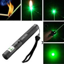 18650 Military Green Laser Pointer 1mw 20 Miles 532nm Visible Beam + Charger #kk