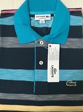 New Lacoste Men's Shirt Size FR 4 US Medium, Made in Peru, Designed in France