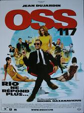 OSS 117 Rio ne répond plus Affiche Cinéma Originale ROULEE 53x40 cm Movie Poster