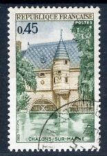 STAMP / TIMBRE FRANCE OBLITERE N° 1602 PONT DE CHALONS SUR MARNE
