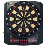 ZAAP Pro Electronic Soft Tip Dart Board with 43 Game and 6 Darts