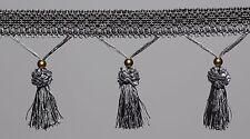 Tassel Fringe / Fringing Trim Curtain Beaded  1/2 Mtr Available 6 Colours #5
