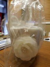 """7.75"""" taupe rose flower girl basket By Lillian Rose, flower girl basket"""