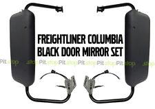 Freightliner Columbia Century Coronado Black Power & Heated Door Mirror SET
