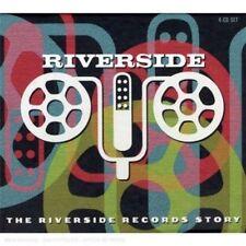 V/A : The Riverside Records Story 4CD Box Set NEW!! BARGAIN!! FREE! UK 24HRPOST!