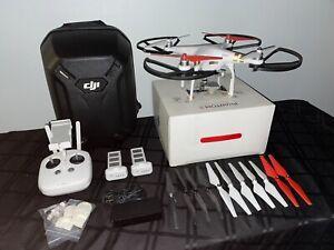 DJI Phantom 3 Professional Quadcopter (4K) BUNDLE w/ DJI Hardshell Case (White)