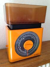 balance de ménage VINTAGE teraillon orange   très bon état   an 70's