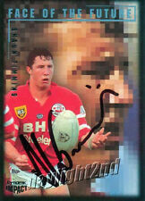 ✺Signed✺ 1995 ST GEORGE ILLAWARRA DRAGONS NRL Card SHAUN TIMMINS