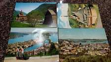 Group of 48 Norway  Views on Oversize Continental Postcards L1142