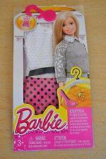 2015 playline Colector blanco, rosa y negro vestido barbie moda