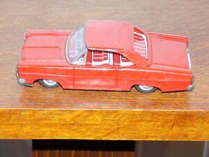 Vintage Ford Fairlane Tin Friction Car