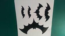 5 Bats Hallowen Sticker.for Cars Walls Windows Ect