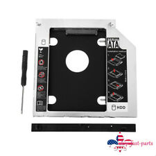 Universal 12.7mm SATA to SATA CD/DVD HDD Caddy Hard Drive Adapter For Laptop