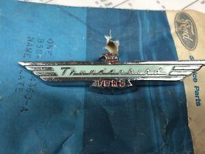 NOS 1955 1956  FORD THUNDERBIRD DASH EMBLEM ASHTRAY EMBLEM B5S-4004460-A T BIRD