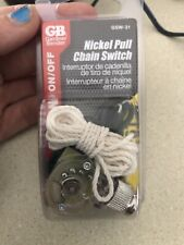 Nickel Pull Chain Switch