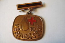 Hungary Hungarian Red Cross Medal 10 Donations Bronze