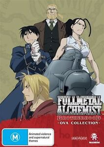 Fullmetal Alchemist - Brotherhood Ova Collection (DVD, 2012)