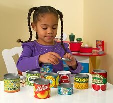 Just Arrive!! Melissa & Doug - Play Food - Let's Play House - Grocery Cans! 4088