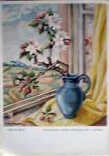 1950 J.SCHRICKER Fiori di melo - ediz.SPAM 1806