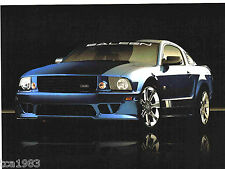 2007 FORD Saleen Mustang S281 Brochure/opuscolo: 3 Valvola, s-281