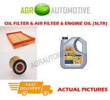 Aceite De Gasolina Kit De Filtro De Aire + Aceite 5W30 ll para Opel Corsa 1.2 75 BHP 2000-04