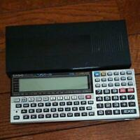 Casio Pocket computer PC VX-4 Function Calculator Tested Examined Used EX Japan