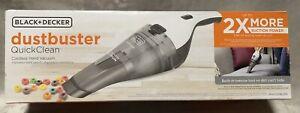 NEW BLACK+DECKER Cordless White Dustbuster Handheld Vacuum HNVC215B10