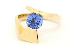 Custom 14k Yellow Gold Ring with Spinel Size 7.25