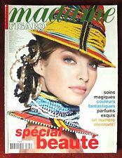 Madame Figaro Magazine ~ #662 May 1997 Beauty Special~ Christina Semenovskaia