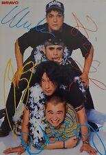 THE BATES - Autogrammkarte - Zimbl Autogramm Fan Sammlung Clippings