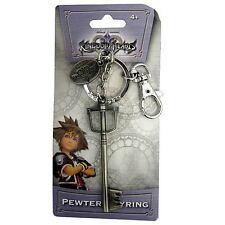 Kingdom Hearts II 2 Sora'S Keyblade metallo portachiavi Keyring | Ufficiale Nuovo