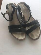Merrell Strappy Black Leather Sandal-11