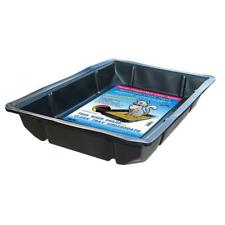 New listing Kitty Lounge Litter Trays Disposable Tray Pet Cat Litter Training Black 50 Pack