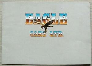 EAGLE SS SERIES II VW Beetle Based Kit Car Sales Brochure 1980s