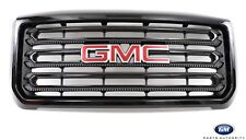 2015-2016 GMC 2500HD 3500HD Gloss Black Grille 22972286 w/ GMC Emblem OEM GM