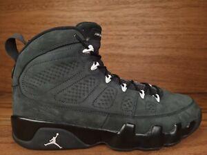 Nike Air Jordan IX 9 men's size 12 Retro Anthracite Grey White Black 302370-013