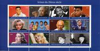 Chad 2018 CTO Elvis Presley Gandhi Einstein JFK Churchill Beatles 12v M/S Stamps