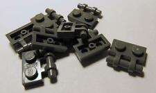 2540 LEGO Parts~(8) Plate, Modified 1 x 2 w Handle on Side DK  BLUISH GRAY 2540