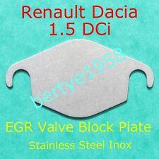 EGR valve blanking plate Renault Dacia 1.5 DCi Magane Luguna Clio Scenic Modus +