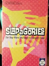 NEW sealed very rare slapagories party game Hasbro Parker brothers adults teens